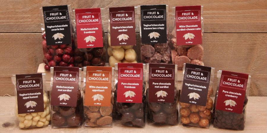 Voorverpakte chocolade